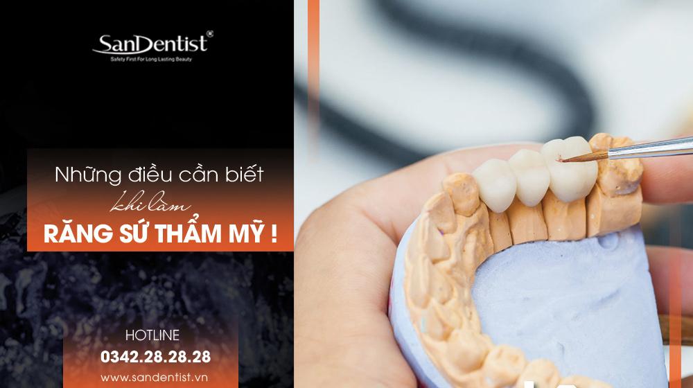 Răng sứ thẩm mỹ - Những điều cần biết khi làm!